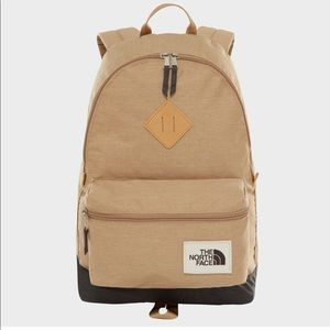NWT The North Face Berkeley Backpack - Khaki Gray